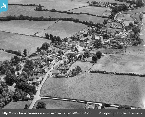 St Mary Bourne centre 1930 via English Heritage